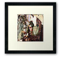 Pre-Raphaelite Dilemma 2. Framed Print