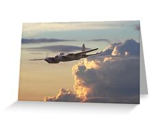 D H Mosquito  -  Pathfinder Greeting Card