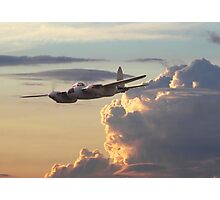 D H Mosquito  -  Pathfinder Photographic Print