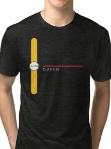 Queen station Tri-blend T-Shirt