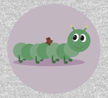 Caterpillar One Piece - Long Sleeve