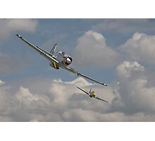 P51 Mustang Pair Photographic Print