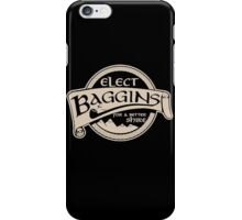 Hobbit Lord of the Rings Elect Baggins iPhone Case/Skin