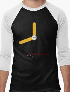 King station Men's Baseball ¾ T-Shirt