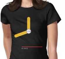 King station Womens Fitted T-Shirt