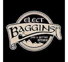 Hobbit Lord of the Rings Elect Baggins Photographic Print