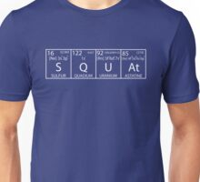 SQUAt (White) Unisex T-Shirt
