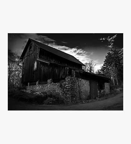 Old Abandoned Barn Photographic Print