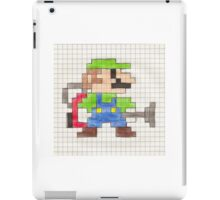 Luigi's 8-Bit Mansion iPad Case/Skin