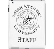 Miskatonic University - Staff iPad Case/Skin