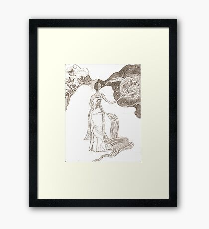 Nature's Scales Framed Print