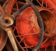 Antique Rims and Wheels by Vivian Christopher