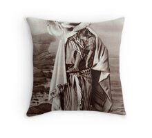 Mexican Woman with Child. Throw Pillow