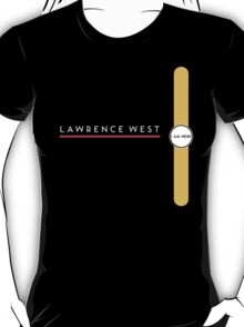 Lawrence West station T-Shirt