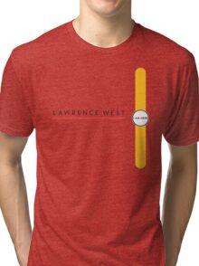 Lawrence West station Tri-blend T-Shirt