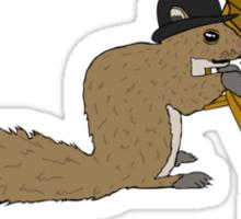 Ragtime Squirrel Sticker