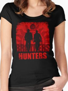 Brother Hunters Women's Fitted Scoop T-Shirt