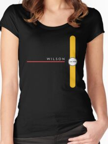 Wilson station Women's Fitted Scoop T-Shirt