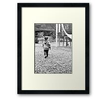 Simple Times Framed Print