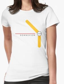 Downsview station (2016–) Womens Fitted T-Shirt