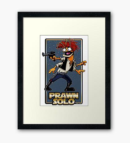 Prawn Solo Framed Print