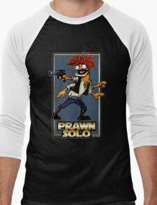 Prawn Solo Men's Baseball ¾ T-Shirt