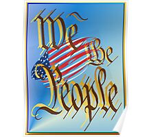 We The People. Poster