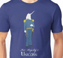 Her Majesty's Unicorn Unisex T-Shirt