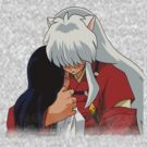 Inuyasha and Kagome by D-PREE