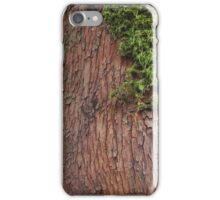 Wood with Moss iPhone Case/Skin