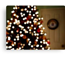 Christmas Glimmer     ^ Canvas Print