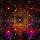 Starry Starry Fractal Night by Georgia Wild