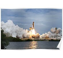 Space Shuttle Launch Poster
