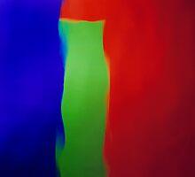 Blue Green Red by Glenn Launerts