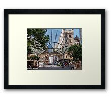 Rundle Mall - The Real centre of the Mall Framed Print