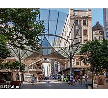 Rundle Mall - The Real centre of the Mall Photographic Print