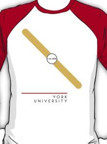Ỵork University station T-Shirt