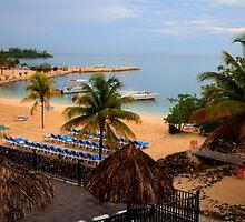 Jamaican Coast by Verna Boucher Turner