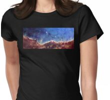 NGC 3324 star cluster, space exploration, nebula Womens Fitted T-Shirt