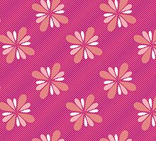 Pink Floral by mgraph