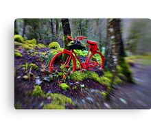 If You Go Down in the Woods Today....You're Sure of a Big Surprise!! Canvas Print