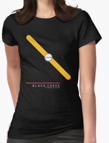 Black Creek Pioneer Village station Womens Fitted T-Shirt