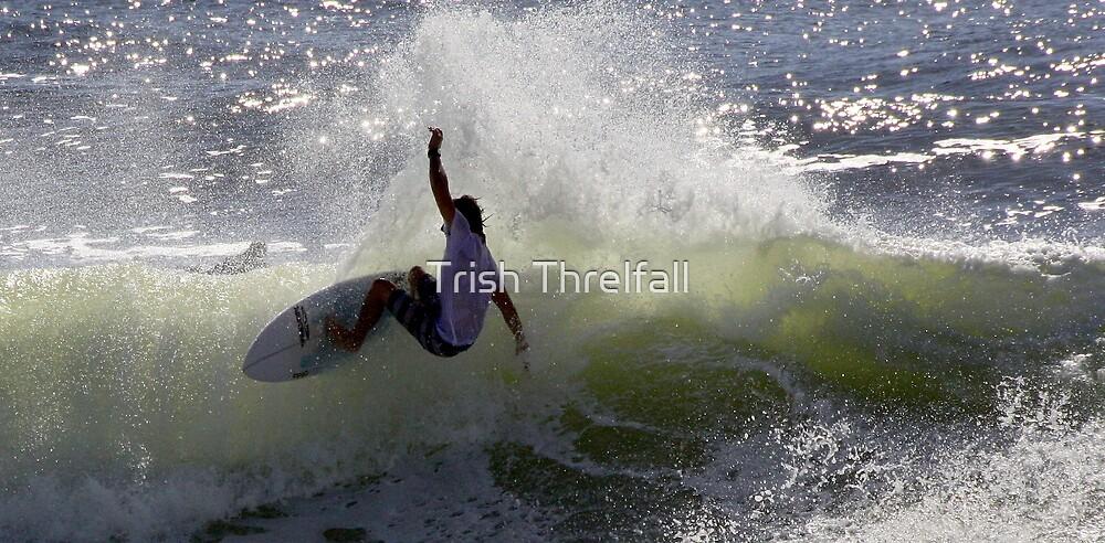 on the coast  by Trish Threlfall