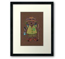Lamington Bear Framed Print