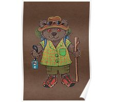 Lamington Bear Poster