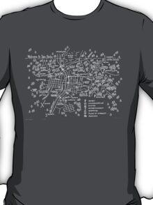 Twin Peaks (Dark Background) T-Shirt