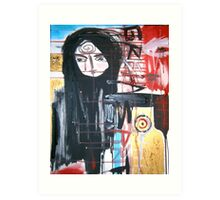 raven woman and grisha Art Print