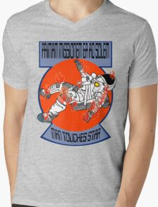 """THE FIRST MISSION TO THE SUN"" Mens V-Neck T-Shirt"