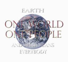 One World One People by retepk