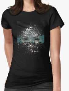 your eyes Womens Fitted T-Shirt